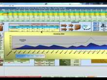 Manufacturing Production Schedule Template Excel