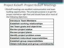 34 Format Audit Kick Off Meeting Agenda Template Now for Audit Kick Off Meeting Agenda Template