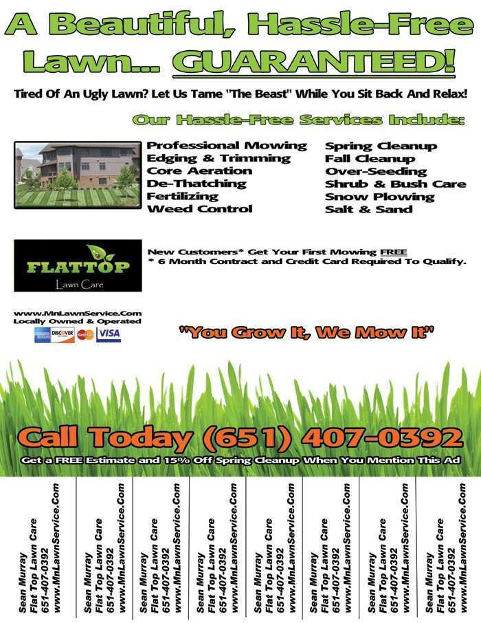 Lawn Care Customer Schedule Template from legaldbol.com
