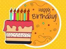34 Happy Birthday Card Template Online Free Now with Happy Birthday Card Template Online Free