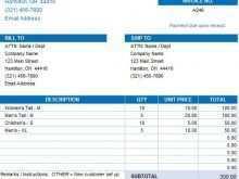 34 How To Create Construction Company Invoice Template Excel For Free with Construction Company Invoice Template Excel