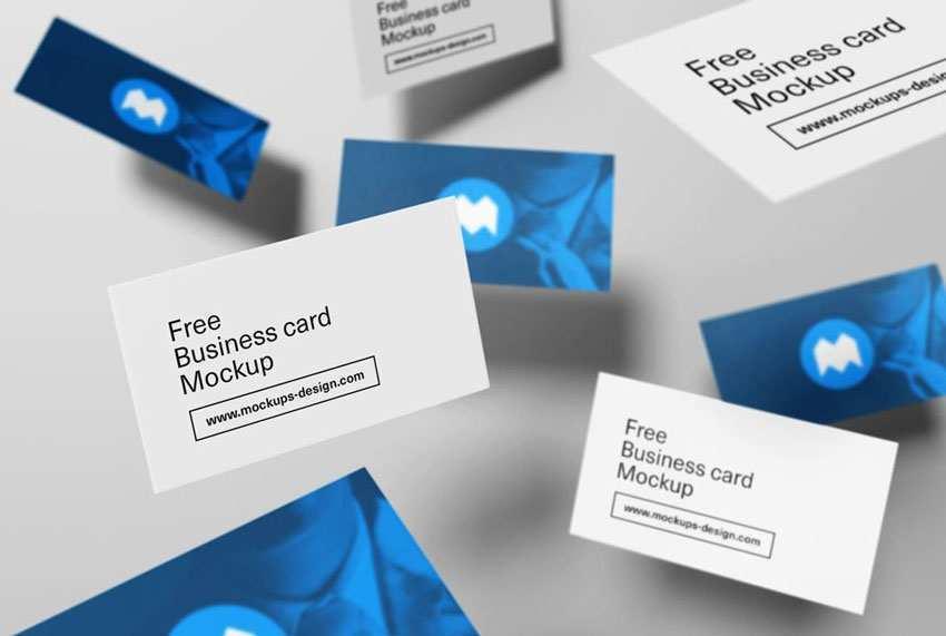 34 Online Business Card Mockup In Illustrator Download with Business Card Mockup In Illustrator