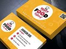 34 Online Business Card Template Restaurant Download by Business Card Template Restaurant