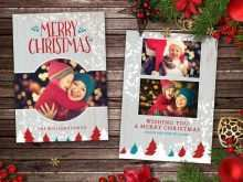 34 Online Christmas Card Templates For Photoshop With Stunning Design with Christmas Card Templates For Photoshop