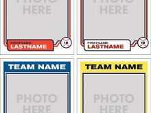 34 Printable Baseball Name Card Template Maker by Baseball Name Card Template