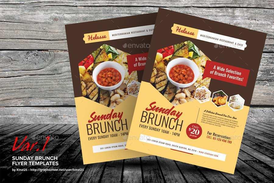 34 Printable Brunch Flyer Template Free Maker with Brunch Flyer Template Free
