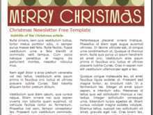 34 Printable Christmas Card Newsletter Template Maker by Christmas Card Newsletter Template