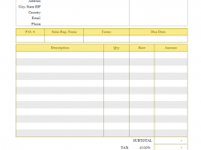 34 Report Construction Invoice Template Doc for Ms Word by Construction Invoice Template Doc