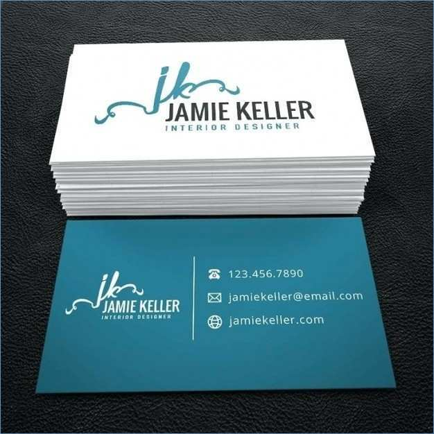 34 The Best 2 Sided Business Card Template Word With Stunning Design with 2 Sided Business Card Template Word