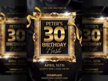 34 The Best Birthday Invitation Flyer Template in Photoshop by Birthday Invitation Flyer Template