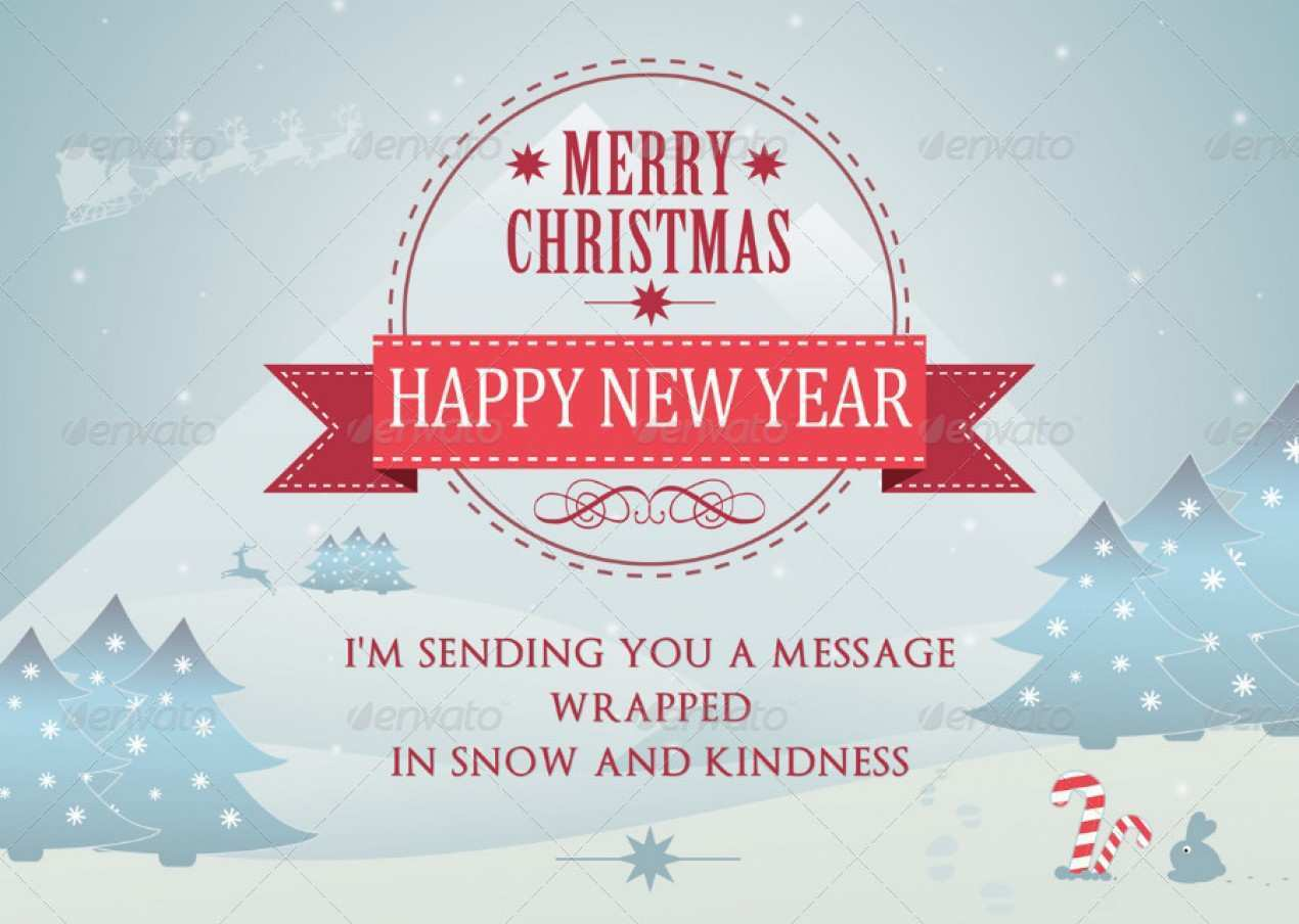 34 The Best Christmas Card Template A4 in Word for Christmas Card Template A4