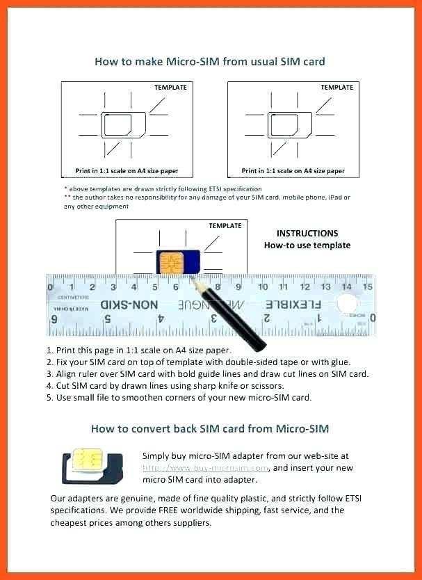 34 Visiting Sim Card Cut Template Print Formating by Sim Card Cut Template Print