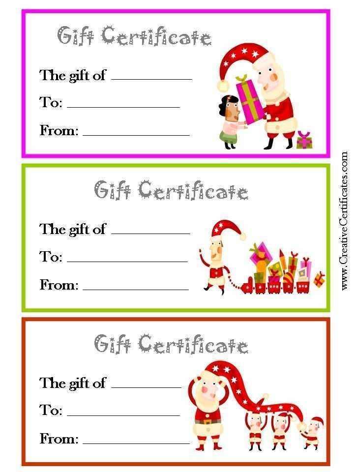 35 Best Christmas Gift Card Templates Free Formating for Christmas Gift Card Templates Free