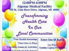 Health Fair Flyer Templates Free