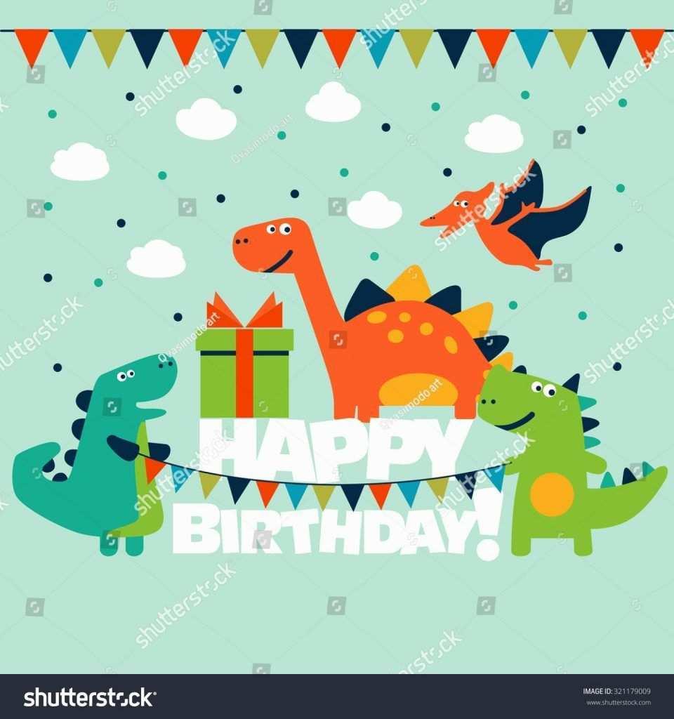 35 Birthday Card Template Dinosaur in Photoshop for Birthday Card Template Dinosaur