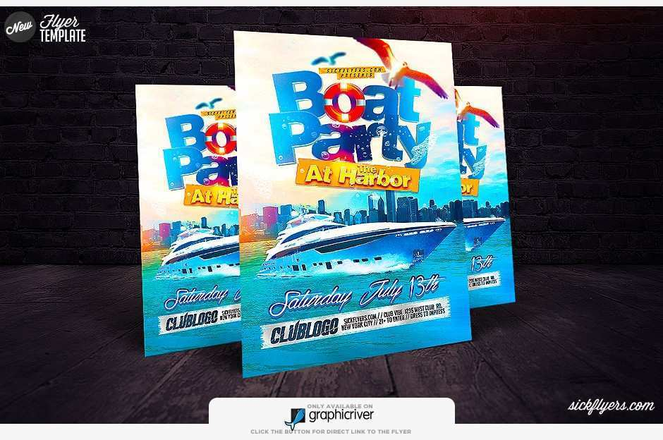 35 Blank Boat Cruise Flyer Template PSD File for Boat Cruise Flyer Template