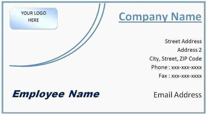 35 Blank Free Name Card Template Microsoft Word Formating by Free Name Card Template Microsoft Word