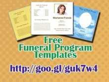 35 Blank Funeral Flyer Templates for Ms Word by Funeral Flyer Templates