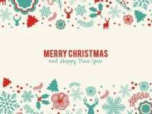 35 Blank Retro Christmas Card Templates Layouts by Retro Christmas Card Templates