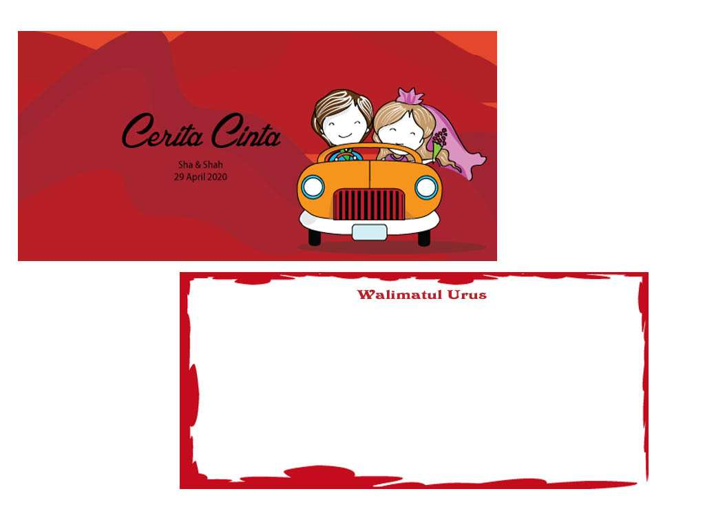 35 Blank Template Kad Kahwin Photo With Template Kad Kahwin Cards Design Templates