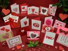 35 Create Heart Card Templates Examples Layouts with Heart Card Templates Examples