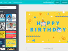 35 Creating Birthday Card Template Canva for Ms Word by Birthday Card Template Canva