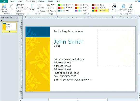 35 Creating Business Card Size Template Powerpoint in Photoshop for Business Card Size Template Powerpoint