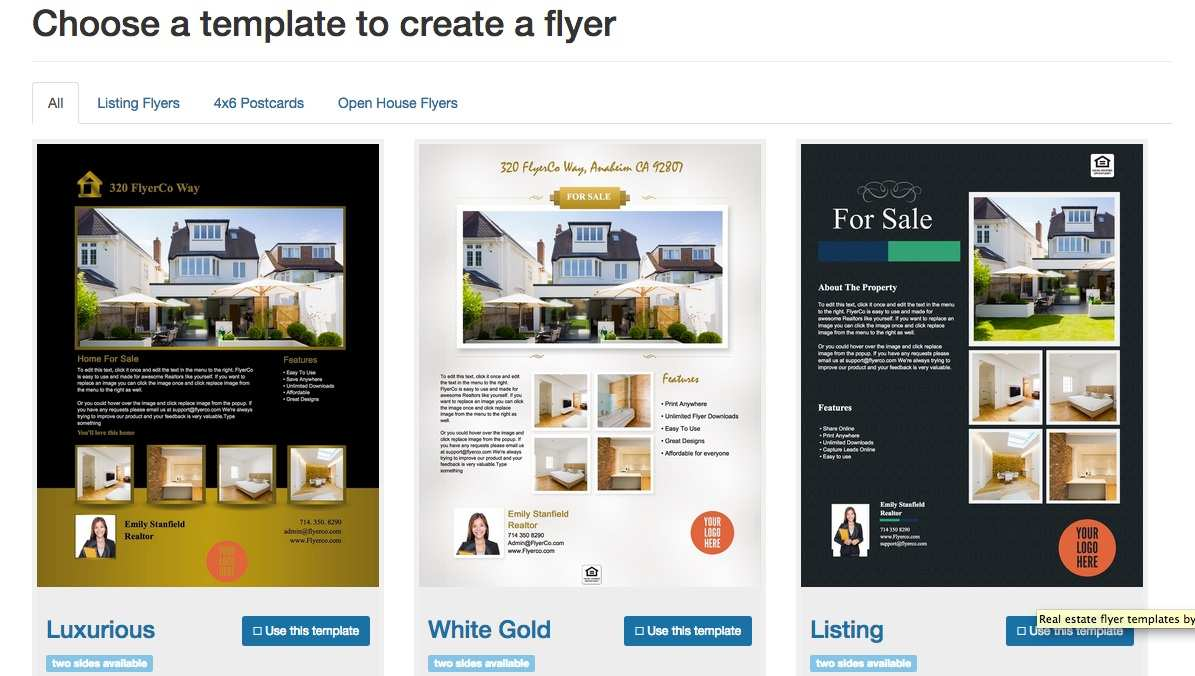 35 Creating Free Template For Real Estate Flyer Layouts by Free Template For Real Estate Flyer
