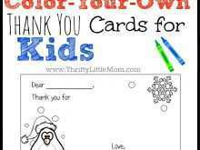 35 Creating Thank You Card Template For Students Maker with Thank You Card Template For Students