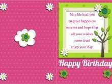 35 Customize Birthday Card Template Doc Maker with Birthday Card Template Doc