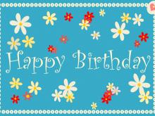 35 Customize Birthday Card Templates Online Free Download with Birthday Card Templates Online Free