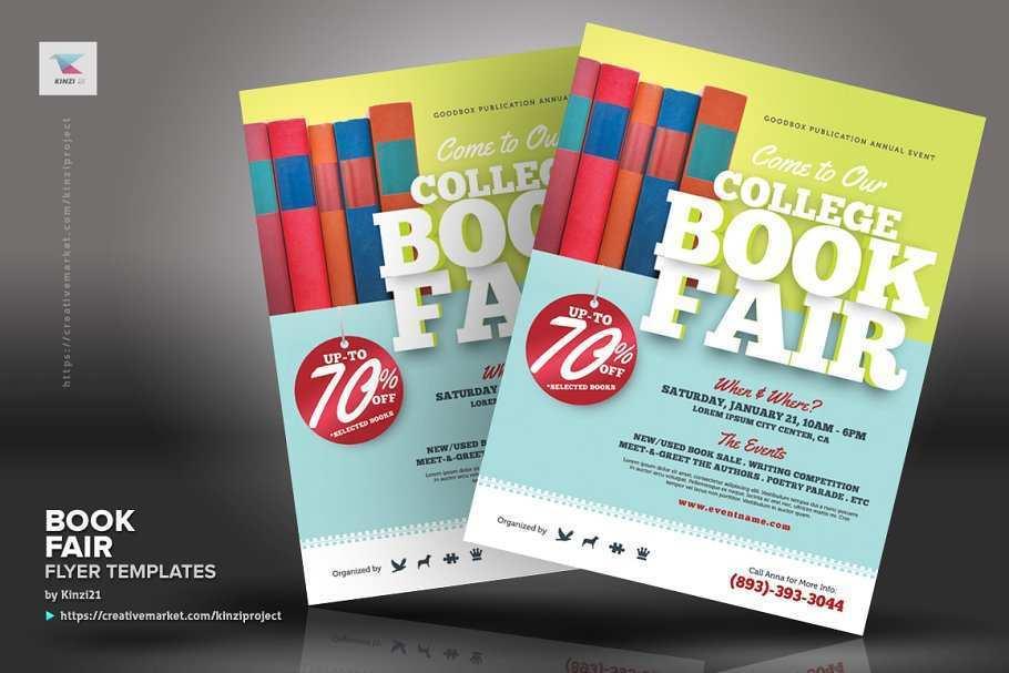 35 Customize Book Fair Flyer Template Now for Book Fair Flyer Template