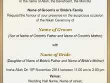 35 Customize Our Free Invitation Card Format Muslim for Ms Word by Invitation Card Format Muslim