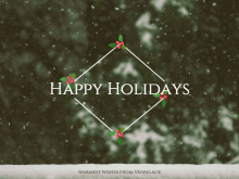 Happy Holidays Card Template Free