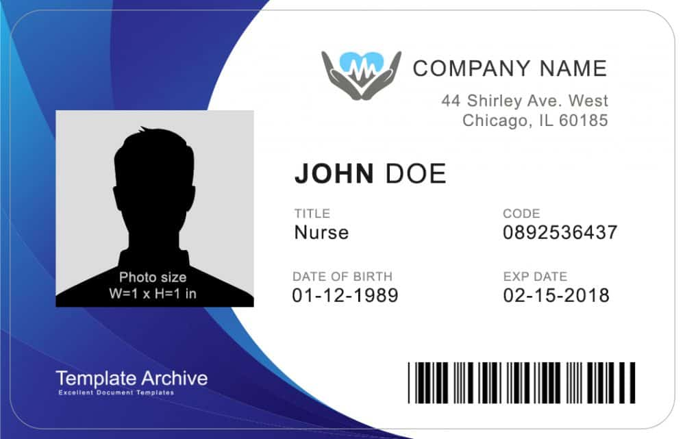 35 Format Word Id Card Templates In