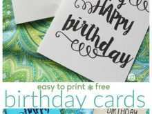 35 Free Birthday Card Template For Her Maker with Birthday Card Template For Her