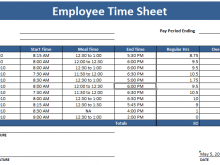 35 Free Excel 2010 Time Card Template Photo by Excel 2010 Time Card Template