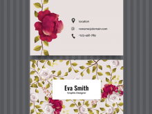 35 Free Floral Business Card Template Free Download PSD File by Floral Business Card Template Free Download