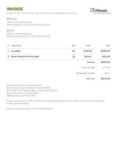 35 Free Invoice Copy Format With Stunning Design by Invoice Copy Format