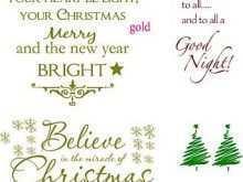 35 Free Printable Christmas Card Template Message With Stunning Design for Christmas Card Template Message