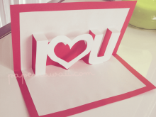 35 Free Printable Pop Up Card Tutorial Heart in Photoshop with Pop Up Card Tutorial Heart