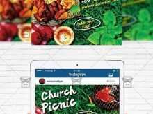 35 Online Church Picnic Flyer Templates for Ms Word by Church Picnic Flyer Templates