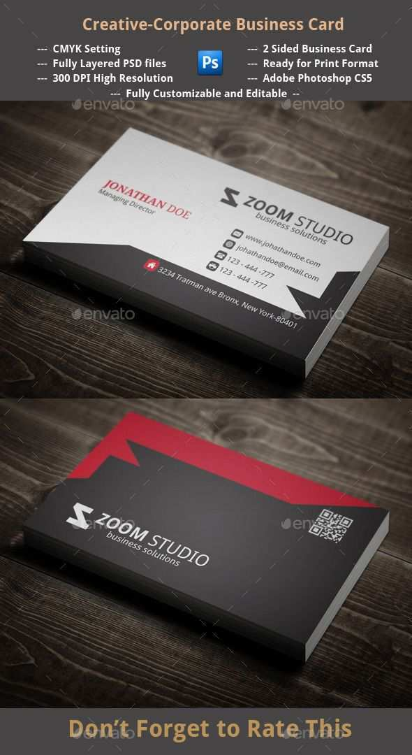 35 Printable 4 Sided Business Card Templates Layouts for 4 Sided Business Card Templates
