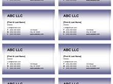 35 Printable Business Card Templates Word for Ms Word by Business Card Templates Word