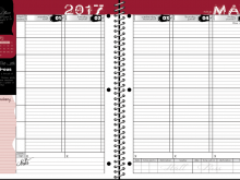 High School Student Planner Template