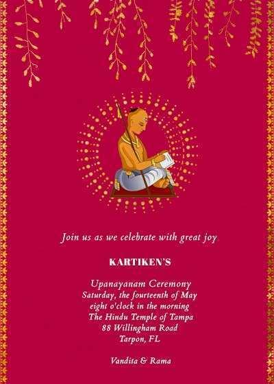 35 Printable Invitation Card Template Pooja Formating for Invitation Card Template Pooja