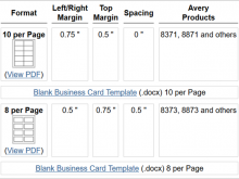 35 Report Blank Business Card Template In Word Now for Blank Business Card Template In Word