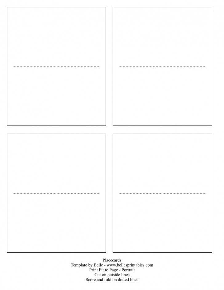 35 Report Word Place Card Template Free Maker for Word Place Card Template Free