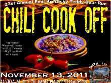 35 Standard Chili Cook Off Flyer Template Free Photo by Chili Cook Off Flyer Template Free