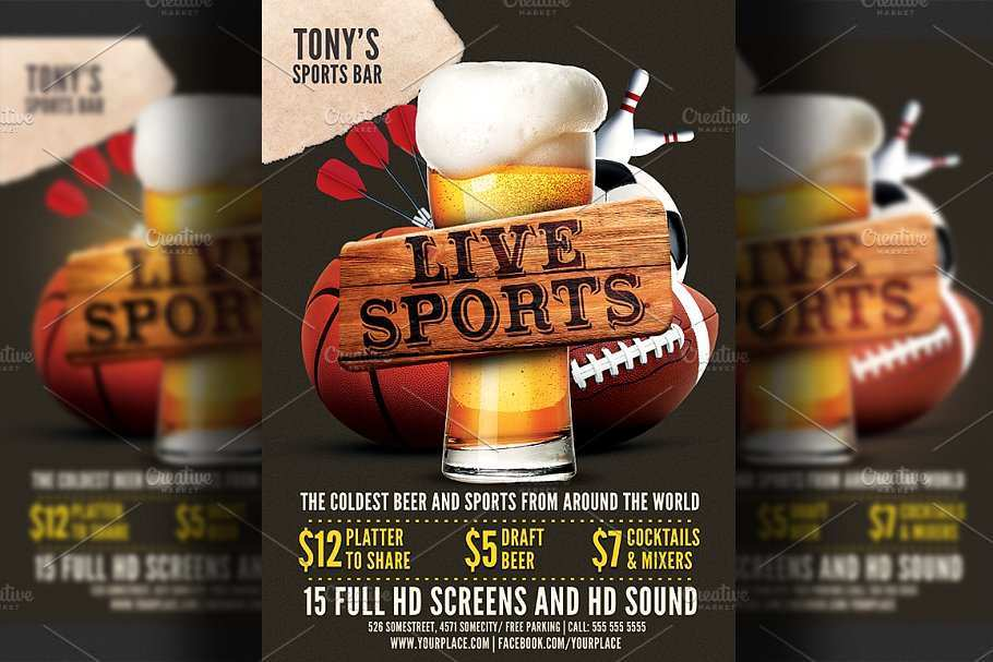35 Visiting Bar Flyer Templates Free in Photoshop with Bar Flyer Templates Free